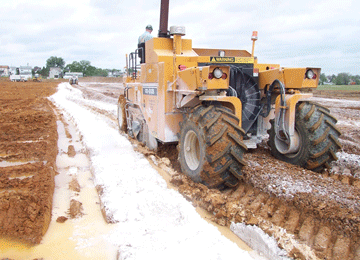 Drying Soils Chemically Using Lime | Geotechnical