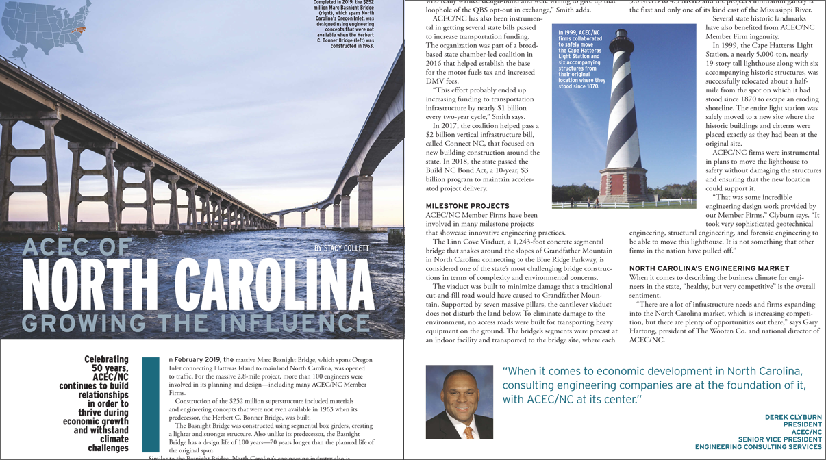 ACEC of North Carolina Growing the Influence