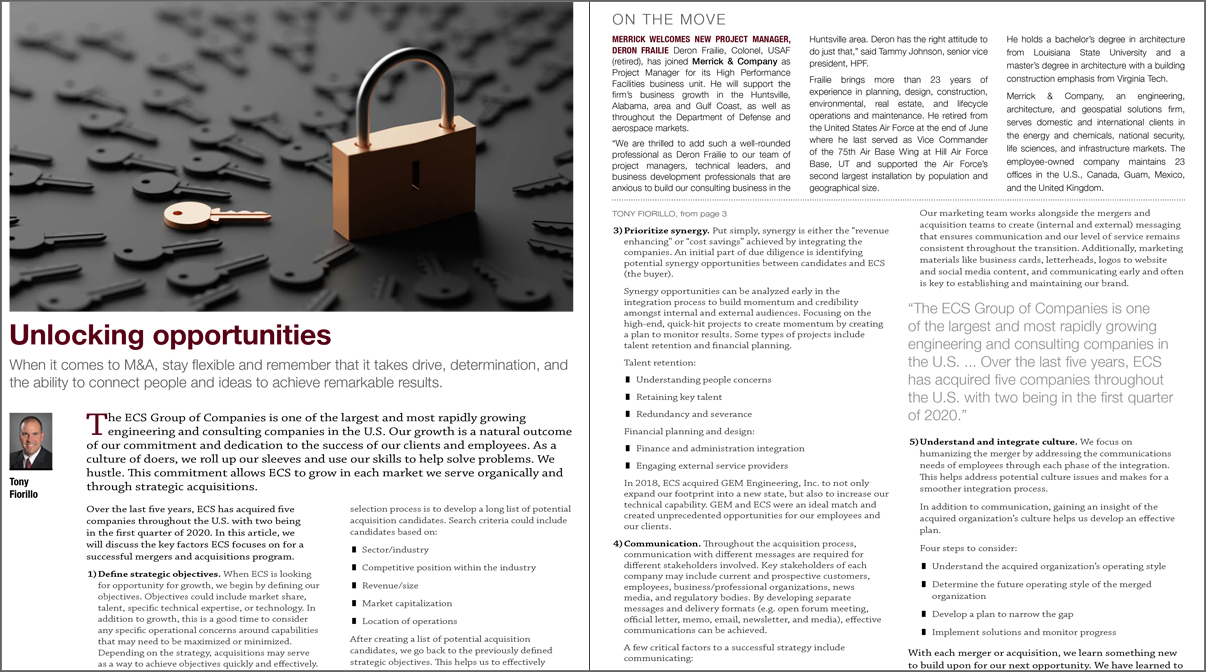 Unlock Opportunities Zweig Article
