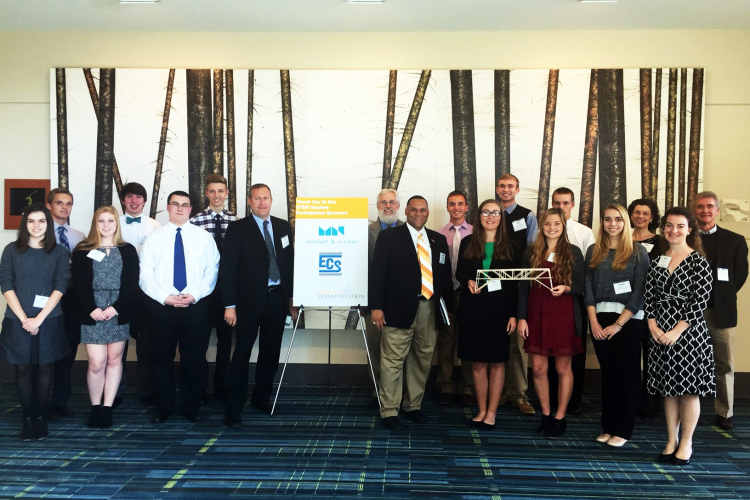 ECS Sponsors Students at ACEC/NCDOT Conference image